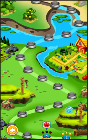 Android Bubble Shooting Adventure Screen 1