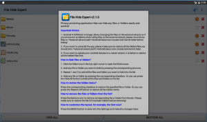 Android File Hide Expert Screen 13