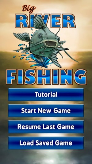 Android Big River Fishing 3D Screen 7