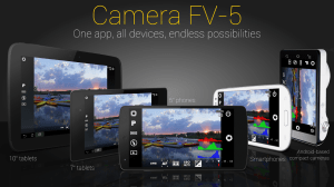Android Camera FV-5 Lite Screen 1
