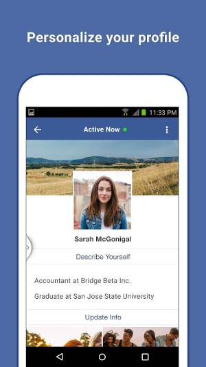 Android Facebook Lite Screen 4