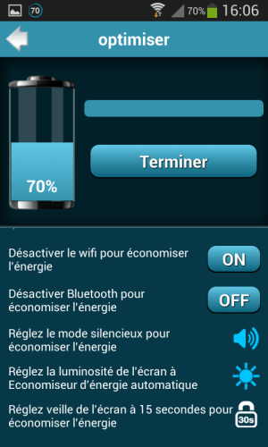 Android Battery Saver Pro Screen 6