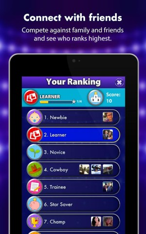 Android Family Fortunes Screen 7