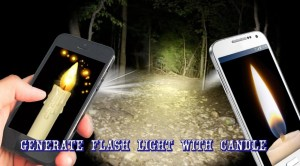 Android Candle FlashLight Screen 4