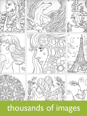 Android Colorfy - Colouring Book for Adults - Free Screen 2