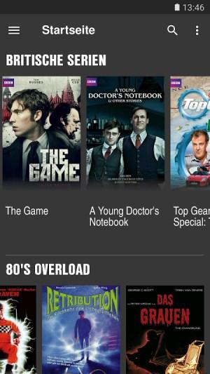 Android Clipfish: Filme, Serien, Anime Screen 2
