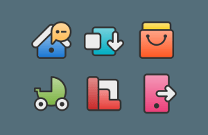 Android XIM - Icon Pack Screen 3
