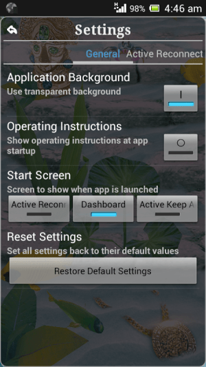 Android Connection Stabilizer Booster Screen 2