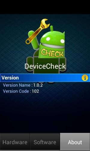 Android Device Check Screen 2