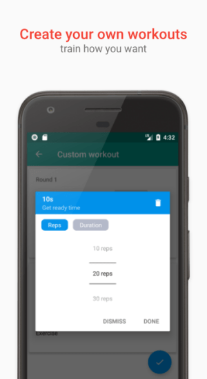 Android 7 Minute Workouts Screen 5
