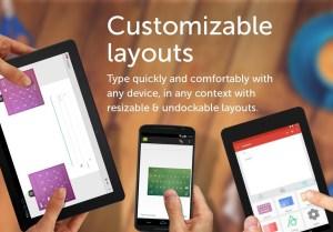 Android SwiftKey Keyboard Screen 4