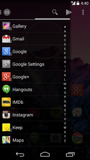 Android Action 2: Pro Screen 2