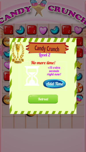 Android CandyCrunch Free Screen 6