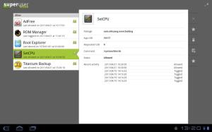 Android Superuser Screen 3