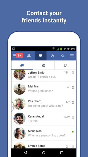Android Facebook Lite Screen 2