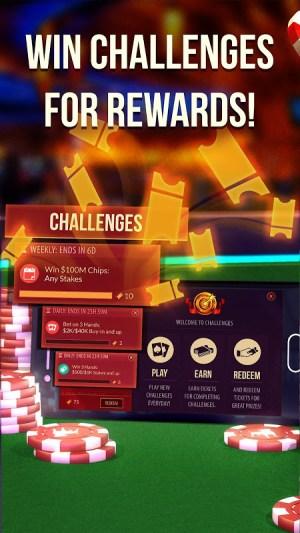 Android Zynga Poker Screen 1
