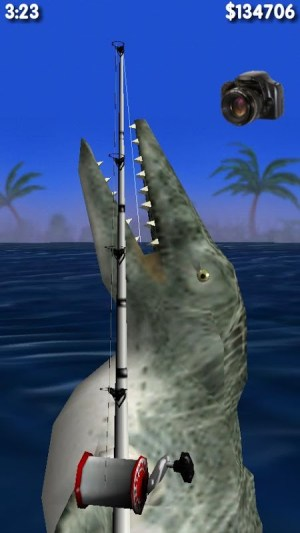 Android Big Dino Fishing 3D Screen 5