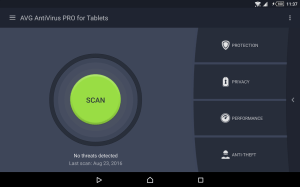 Android AntiVirus PRO Android Security Screen 13