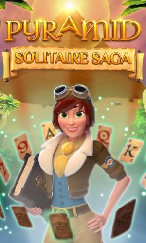 Android Pyramid Solitaire Saga Screen 5