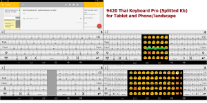 Android 9420 Thai Keyboard Pro Screen 7