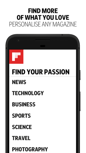 Android Flipboard: News For Any Topic Screen 6