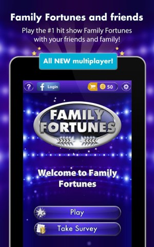 Android Family Fortunes Screen 5