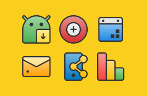 Android XIM - Icon Pack Screen 4