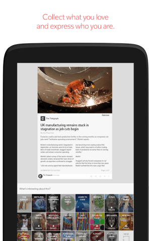 Android Flipboard: News For Any Topic Screen 13