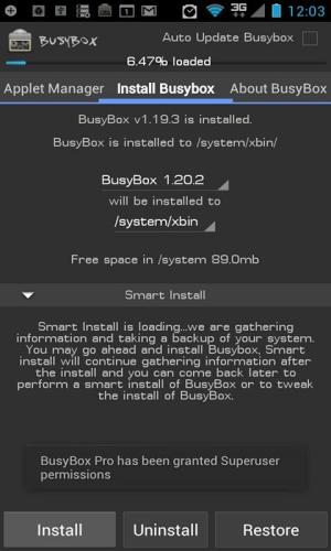 Android BusyBox Pro Screen 4