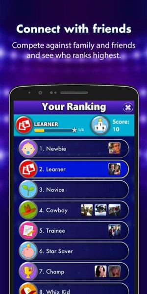 Android Family Fortunes Screen 2