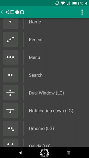 Android Xstana - Navbars & Statusbars Screen 5