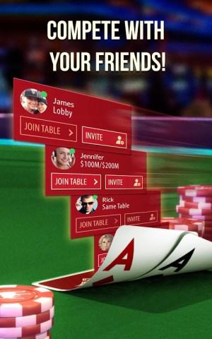 Android Zynga Poker Screen 4