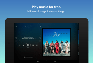 Android Spotify Music Screen 5