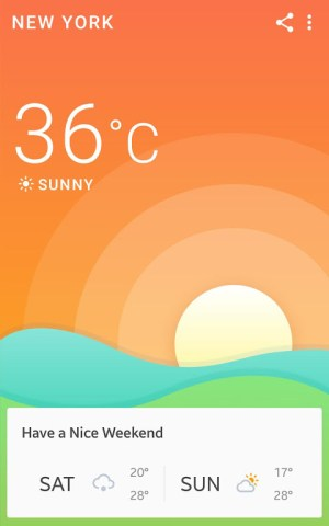 Android 360 Weather - Local Weather Forecast  & Radar app Screen 8