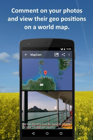 Android MapCam - Geo Camera & Collages Screen 5