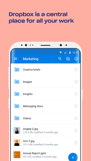 Android Dropbox Screen 18