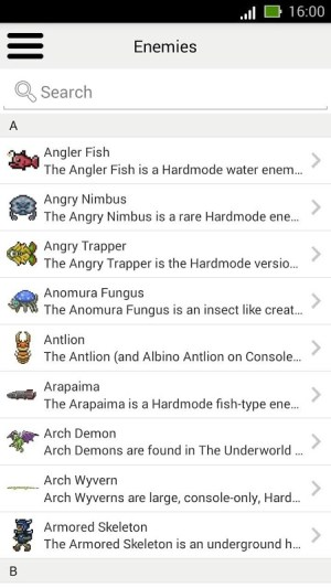 Android Guide  for Terraria Screen 3