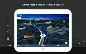 Android GPS Navigation & Maps Sygic Screen 6