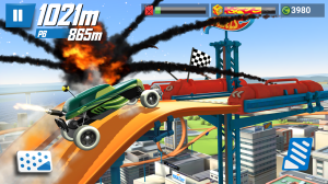 Android Hot Wheels: Race Off Screen 6