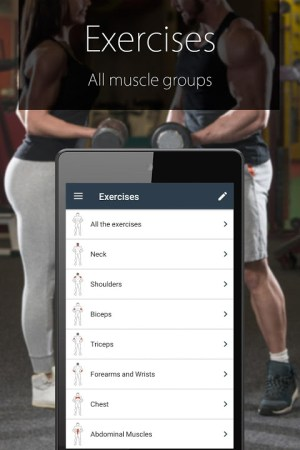 Android Fitness Coach FitProSport Screen 3
