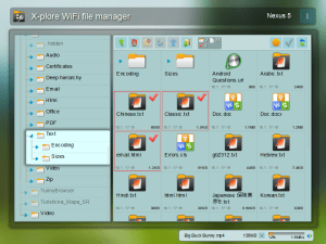 Android X-plore File Manager Screen 2
