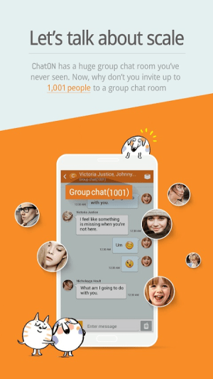 Android ChatON Screen 2