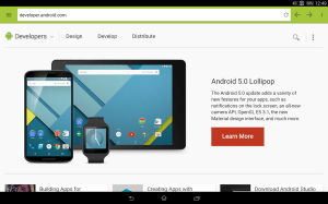 Android Lightning Web Browser + Screen 5