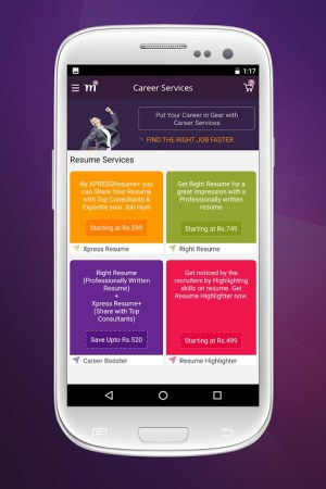 Android Monster Jobs Screen 5