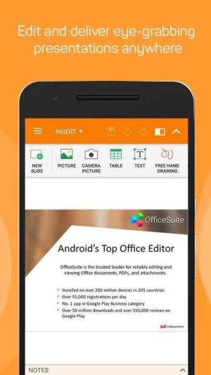 Android OfficeSuite : Free Office + PDF Editor Screen 3