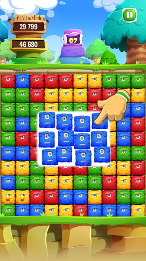 Android Pop Monster Dash Screen 1