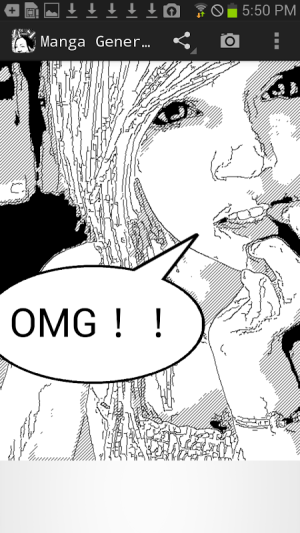 Android MangaGenerator -Cartoon image- Screen 4
