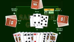 Android Card Game Coat : Court Piece Screen 3