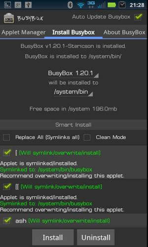 Android BusyBox Pro Screen 3
