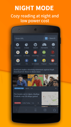 Android UC Browser Screen 4